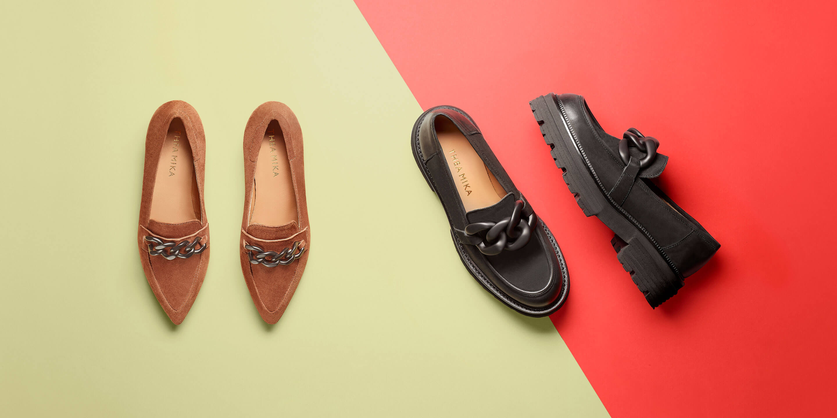 Mules, Loafers & Ballerinas