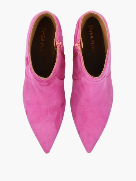 Ankle Boots fuxia