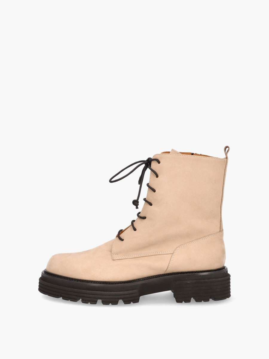 Laced boots naturale