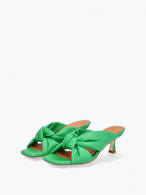 Pantolette verde